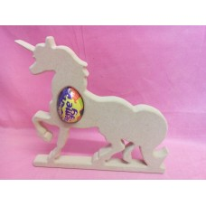 18mm MDF Unicorn cream egg holder 1 egg